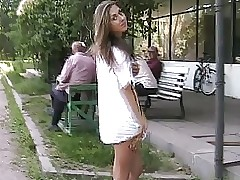 Public free clips - tight teen pussy and ass